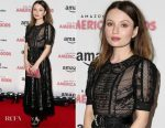 Emily Browning In Miu Miu - 'American Gods' London Premiere