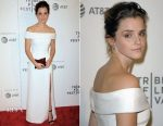Emma Watson In Burberry - 'The Circle' Tribeca Film Festival Screening