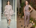 Emmy Rossum In Marni - Free Arts NYC 18th Annual Art Auction