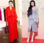Fan Bingbing In Givenchy & Monse - Givenchy Store Opening & 8th China Film Directors' Guild Awards