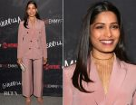 Freida Pinto In Bally - Showtime's 'Guerrilla' FYC Event