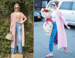 Gigi Hadid In Alice + Olivia - Out In New York