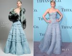 Haley Bennett In J. Mendel - Tiffany & Co. 2017 Blue Book Collection Gala