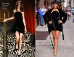 Jennifer Hudson In Brandon Maxwell - The Late Show With Stephen Colbert