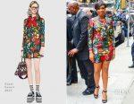 Jennifer Hudson In Gucci - Good Morning America