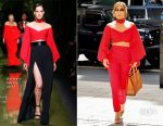 Jennifer Lopez In Balmain - Out In New York City