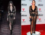 Jennifer Lopez In Julien Macdonald - 2017 Billboard Latin Music Awards