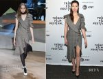 Jessica Biel In Self-Portrait - 'The Sinner' Tribeca Film Festival Premiere