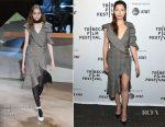 Jessica Biel In Self-Portrait - 'The Sinner' Tribeca Film Festival Premiere