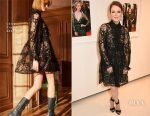 Julianne Moore In Chloé - Vogue & Chopard Opening of Ivan Shaw's Glittering Prizes Photo Exhibition