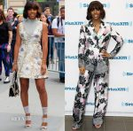 Kelly Rowland In Fendi & Isabel Garcia - Barnes & Noble Book Signing & SiriusXM
