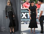 Lea Michele In Michael Kors Collection - Extra