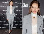 Michelle Monaghan In Gabriela Hearst - Deadline's The Contenders Event