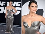 Michelle Rodriguez In Vivienne Westwood Couture - 'The Fate Of The Furious' New York Premiere