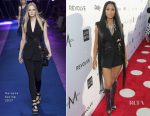 Nicki Minaj In Versace - Daily Front Row's 3rd Annual Fashion Los Angeles Awards