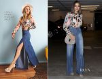 Olivia Culpo  In Alice + Olivia - Out In LA