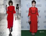 Ophelia Lovibond In Vivetta - 'Tommy's Honour' New York Screening