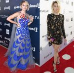 Paris Jackson In Yanina Couture & Naeem Khan - 2017 GLAAD Media Awards & Daily Front Row's 3rd Annual Fashion Los Angeles Awards