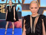 Pom Klementieff In Giambattista Valli - 'Guardians of the Galaxy Vol. 2'  London Premiere