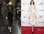 Rebecca Hall In Gabriela Hearst - 'The Dinner' Tribeca Film Festival Premiere