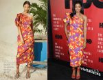 Renée Elise Goldsberry In Rosie Assoulin - 'The Immortal Life Of Henrietta Lacks' New York Premiere