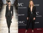 Rosamund Pike In Bottega Veneta - 2017 IWC Schaffhausen 'For The Love Of Cinema' Gala