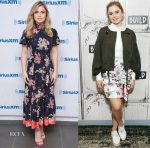 Rose McIver In Rebecca Taylor & Zac Posen - SiriusXM & Build Series Presents: 'iZombie'