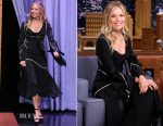Sienna Miller In J.W.Anderson - The Late Show Starring Jimmy Fallon