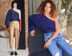 Solange Knowles' Solace London Kasey top