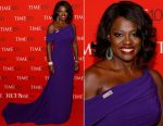 Viola Davis In Armani Prive - 2017 Time 100 Gala