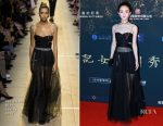 Zhao Liying In Christian Dior - 'The Monkey King 3' Beijing Press Conference