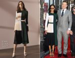 Zoe Saldana In Prabal Gurung & Chris Pratt In Tom Ford - Hollywood Walk of Fame Star Ceremony