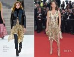 Adele Exarchopoulos In Louis Vuitton - Cannes Film Festival 70th Anniversary Celebration