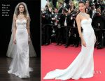 Adriana Lima In Naeem Khan - 'Loveless (Nelyubov)'  Cannes Film Festival Premiere