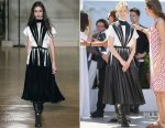 Alba Rorhwacher In Valentino - 'Ismael's Ghosts' Cannes Film Festival Photocall