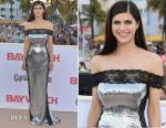 Alexandra Daddario In Azzaro Couture -  'Baywatch' World Premiere