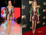 Allison Williams In Galia Lahav - 2017 MTV Movie & TV Awards
