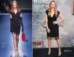 Amanda Seyfried In Versace - 'Twin Peaks' LA Premiere