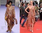 Amber Valletta In Mulberry - 'Wonderstruck' Cannes Film Festival Premiere