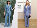 AnnaSophia Robb In Akris - Bergdorf Goodman x Akris x Howard Greenberg Gallery
