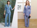 AnnaSophia Robb In Akris - Bergdorf Goodman x Akris x Howard Greenberg Gallery
