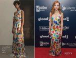 AnnaSophia Robb In Jonathan Cohen - 28th Annual GLAAD Media Awards