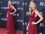 Annabelle Wallis In Miu Miu - 'The Mummy' Taiwan Premiere