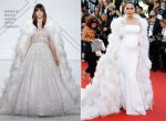 Araya A. Hargate In Ralph & Russo Couture - 'Ismael's Ghosts' Cannes Film Festival Premiere