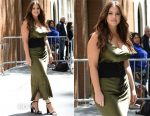 Ashley Graham In Nili Lotan - The View