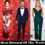 Best Dressed Of The Week - Fan Bingbing in Marchesa, Blake Lively In Brandon Maxwell & Ryan Reynolds in Brunello Cucinelli