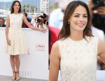 Berenice Bejo In Miu Miu - 'Redoubtable' Photocall Cannes Film Festival Photocall