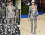 Cara Delevingne In Chanel Couture - 2017 Met Gala