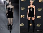 Cara Delevingne In Saint Laurent - 2017 MTV Movie & TV Awards