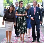 Catherine, Duchess of Cambridge In Rochas - The Chelsea Flower Show